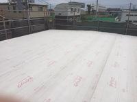 ハウスメーカー屋根施工